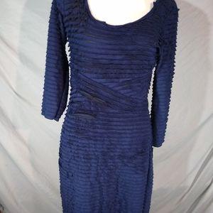 Max studio large navy blue dress